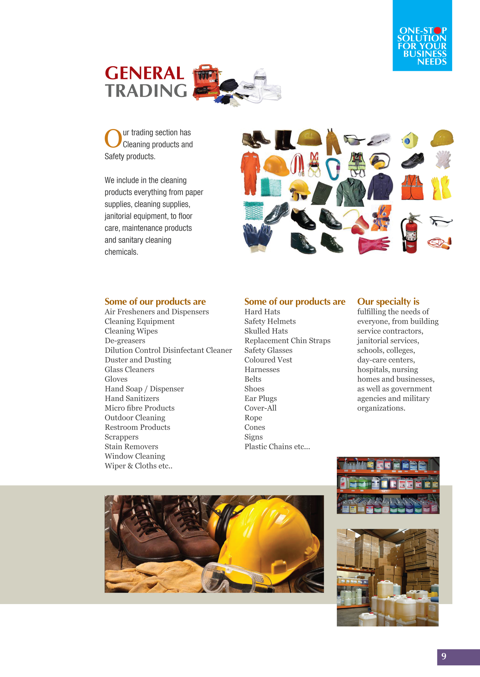 Safety Materials Trading Civil And Mep Contracting In Qatar